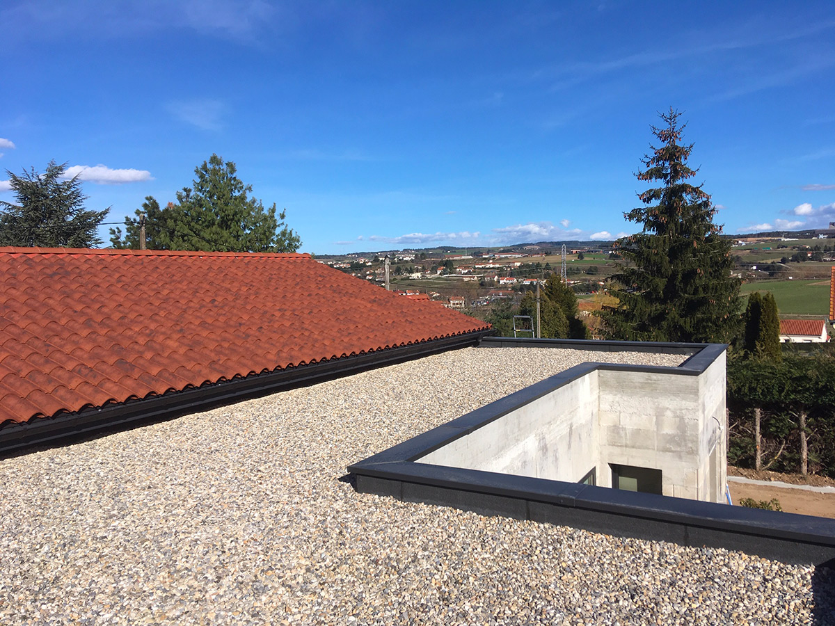 Etanchéité & isolation toiture terrasse - EGGE 43