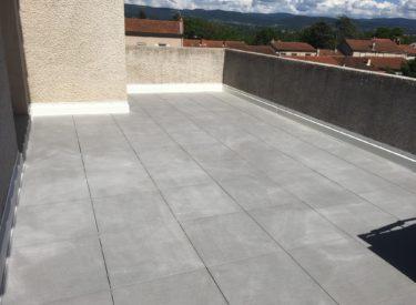 Réfection d'étanchéité sur terrasse